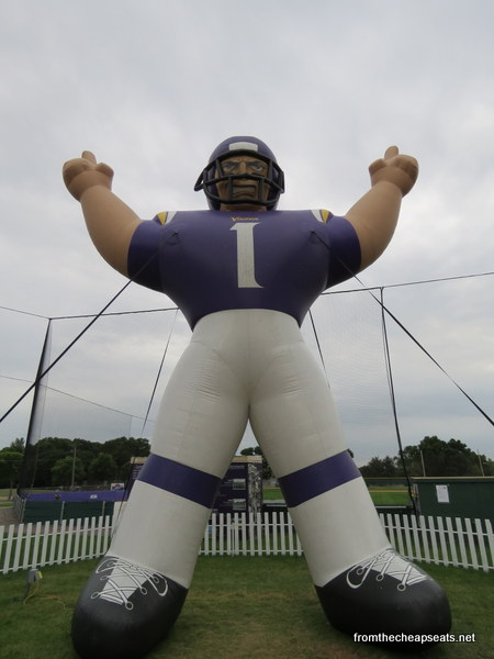 Bucket list – Visiting Minnesota Vikings preseason camp